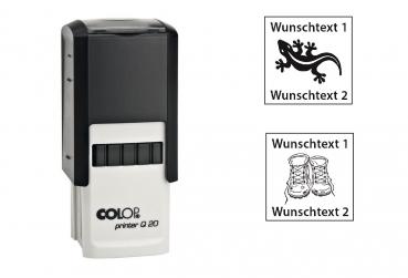 Colop Printer Q 20 Logstempel - 20x20mm