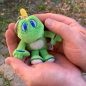 Preview: XS Micro Signal the Frog® Plush mit Schlüsselring