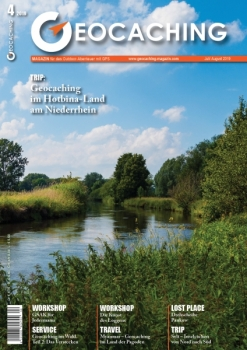 Geocaching Magazin Nr. 4 / 2019