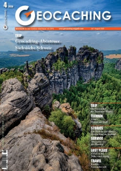 Geocaching Magazin Nr. 4 / 2020