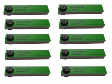 Logbook for PETling, green - 10 pieces