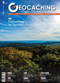 Geocaching Magazin Nr. 6 / 2018