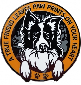 Paw Prints Geocoin - Orange