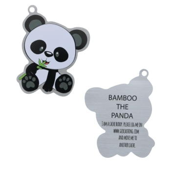Bamboo der Panda - Travel Tag