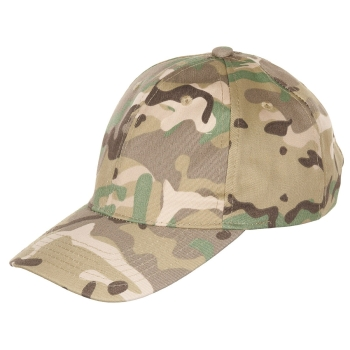Kids BB Cap, with visor, size-adjustable - operation-camo