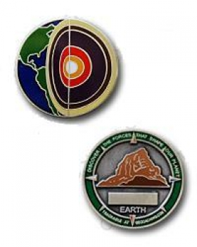 Four Elements Earth Micro-Geocoin