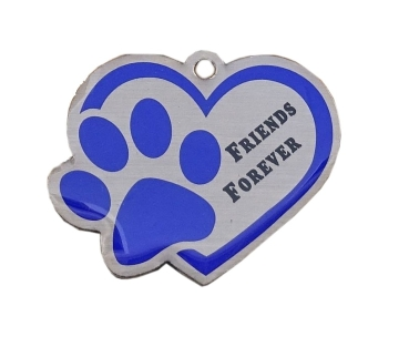 Friends Forever Travel Tag - blau