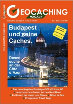 Geocaching Magazin Nr. 2 / 2011
