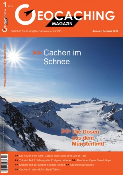 Geocaching Magazin Nr. 1 / 2012