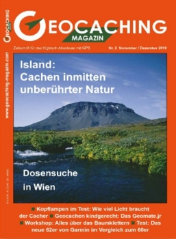 Geocaching Magazin Nr. 2 / 2010