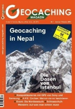 Geocaching Magazin Nr. 1 / 2011