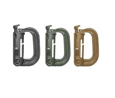 Molle Carabiner Clip - Set of 2