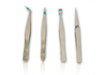 Tweezers set of 4pcs