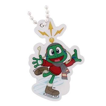 Skating- Signal the Frog® Winter Sports Travel Tag