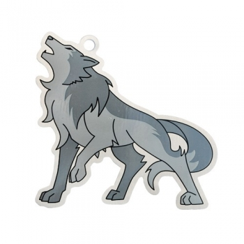 Warick der Wolf Travel Tag