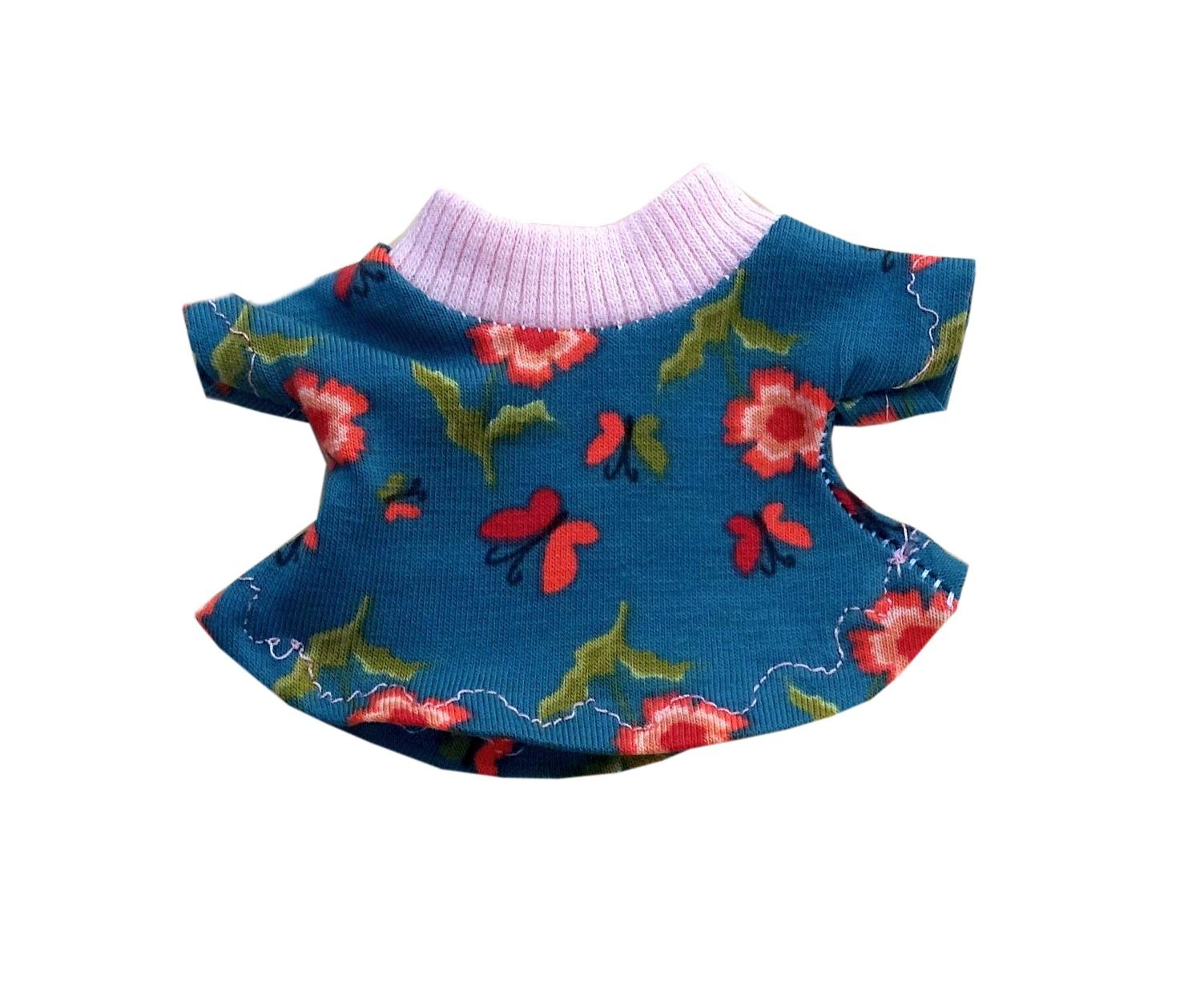 Kleid für XS Micro Signal - geblümt