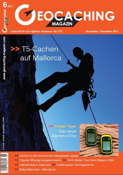 Geocaching Magazin Nr. 6 / 2011