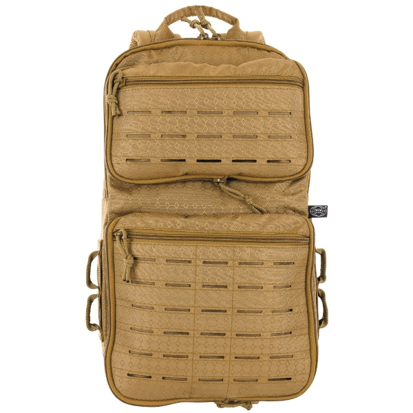 "Rucksack, ""Compress"", OctaTac - coyote tan"