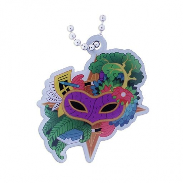 Cache Carnival Travel Tag