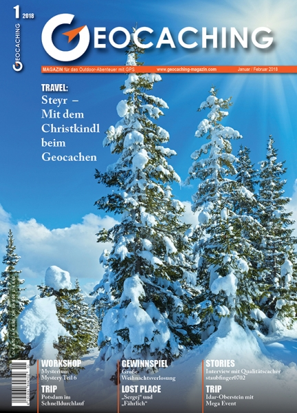geocaching magazin