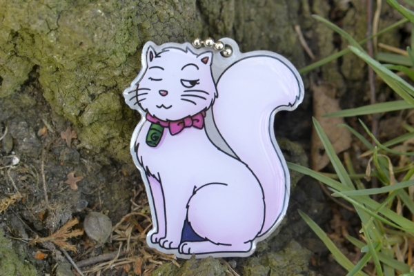 GeoPets Travel Tag - Marshmallow die Sissicacherin