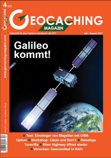 Geocaching Magazin Nr. 4 / 2011