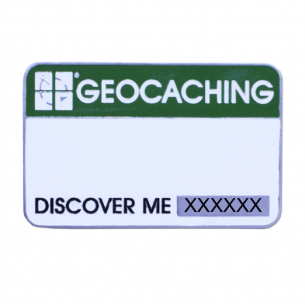 Trackable Event Cache Name Tag Namensschild