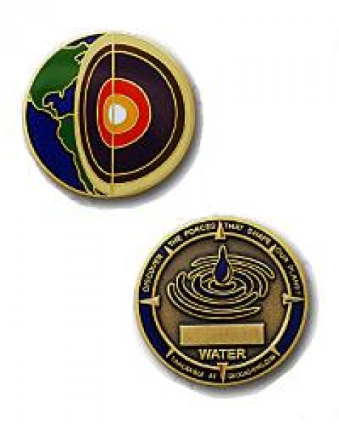Four Elements Water Micro-Geocoin