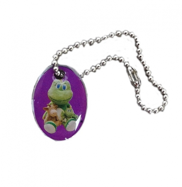 XS Mini Signal and Friends Travel Tag - purple