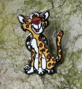 Edward the Leopard Pin