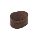 Mini Wooden Log Box With Sliding Lid