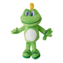 Signal the Frog® Plush - 30 cm inkl. Signal and Friends Travel Tag
