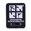 Geocaching Trackable Patch - Schwarz